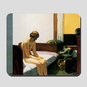 Edward Hopper Hotel Room Mousepad