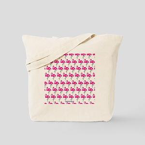 Flamingos Marching Tote Bag