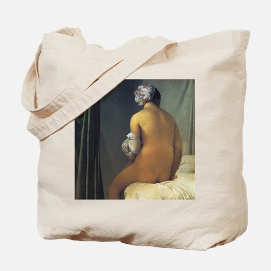 Jean Auguste Dominique Ingres The Bather Tote Bag