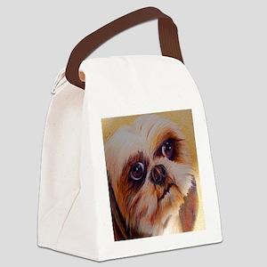 Shih Tzu Canvas Lunch Bag