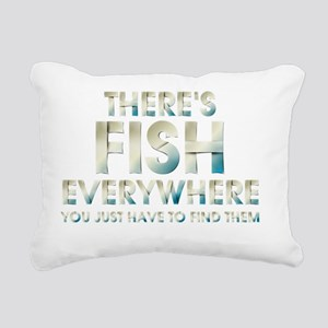 fishevtext2 Rectangular Canvas Pillow