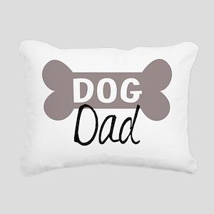 Dog Dad Rectangular Canvas Pillow