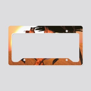 gl_Rectangular Canvas Pillow License Plate Holder