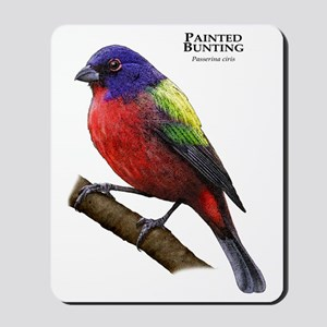 Painted Bunting Mousepad