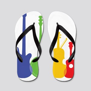 Instruments Color Flip Flops