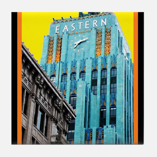 Historic Downtown Los Angeles Tile Coaster
