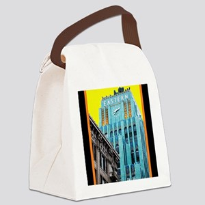 Historic Downtown Los Angeles Canvas Lunch Bag