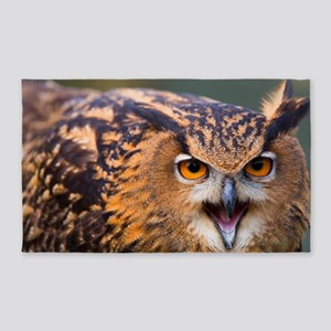 Eagle Owl 3'x5' Area Rug