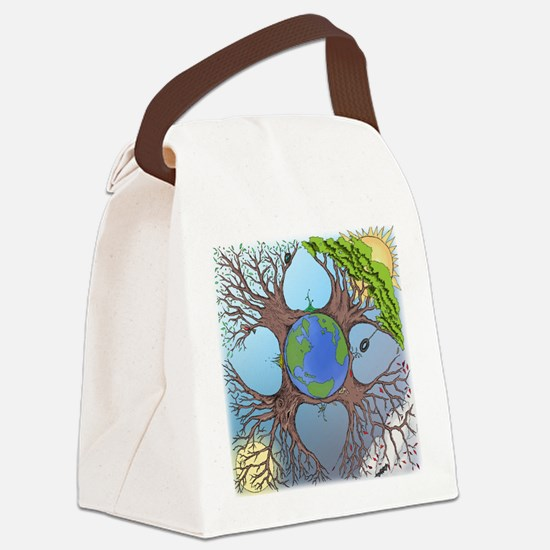 All Deluxe All the Time 2013 Canvas Lunch Bag
