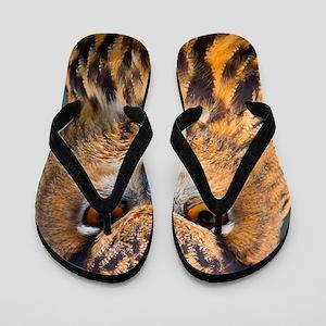 Eagle Owl Flip Flops