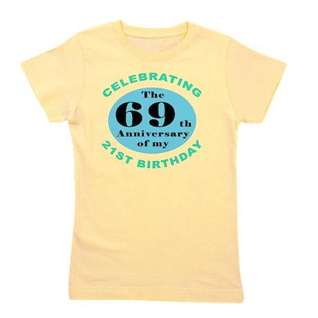 90th Birthday Humor Girl's Tee