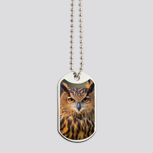 Eagle Owl Dog Tags