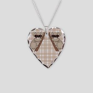 kb_flip_flops Necklace Heart Charm