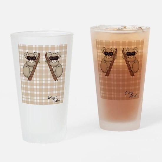 kb_flip_flops Drinking Glass