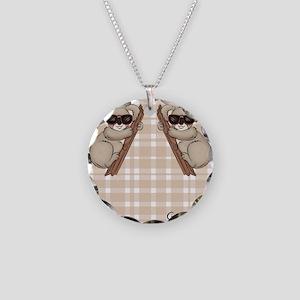 kb_flip_flops Necklace Circle Charm