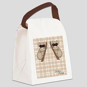 kb_flip_flops Canvas Lunch Bag