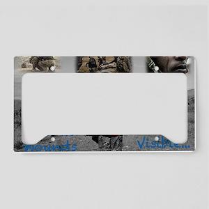 PTSD. License Plate Holder