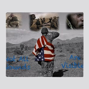 PTSD. Throw Blanket