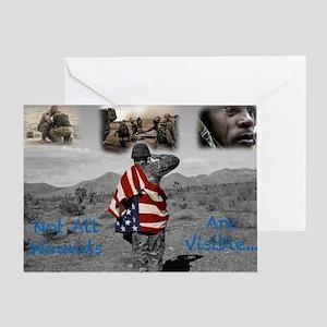 PTSD. Greeting Card