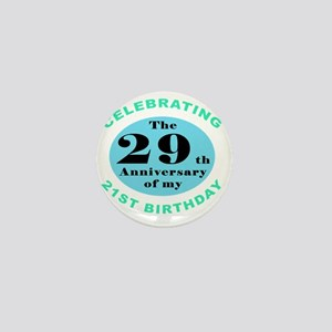 50th Birthday Humor Mini Button