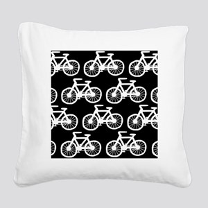 Bike Square Canvas Pillow