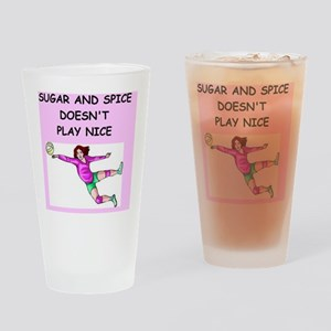 volleyball Drinking Glass