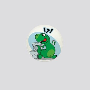 T-Rex and the Potty Mini Button