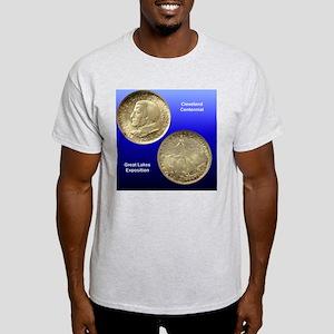 Cleveland Centennial Half Dollar Coi Light T-Shirt