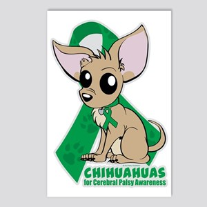 Chihuahuas for Cerebral P Postcards (Package of 8)