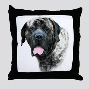 Brindle 21 Throw Pillow