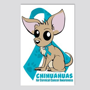 Chihuahuas for Cervical C Postcards (Package of 8)
