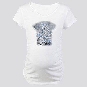 Winters Promise allover Maternity T-Shirt