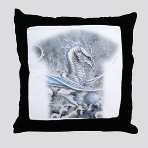 Winters Promise allover Throw Pillow
