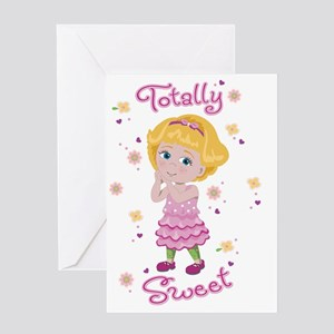 Totally Sweet Ella Greeting Card