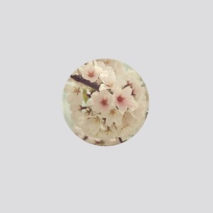 JAPANESE CHERRY BLOSSOMS Mini Button