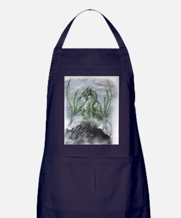 Misty allover Apron (dark)