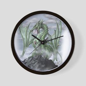 Misty allover Wall Clock