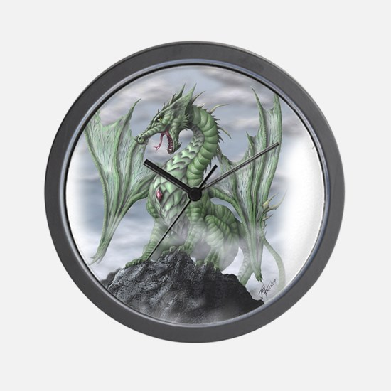Misty allover Wall Clock