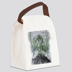 Misty allover Canvas Lunch Bag