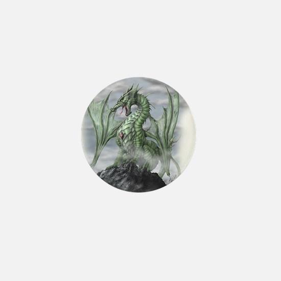 Misty allover Mini Button