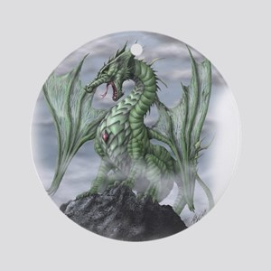 Misty allover Round Ornament