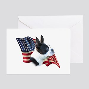 Boston Flag Greeting Cards (Pk of 10)