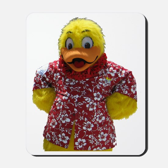 Duckie, the Float Like A Duck Mascot Mousepad