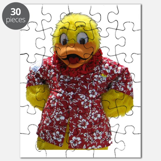 Duckie, the Float Like A Duck Mascot Puzzle