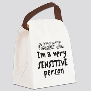 CAREFUL IM SENSITIVE T-SHIRTS AND Canvas Lunch Bag
