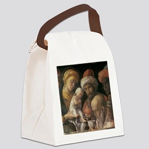 Andrea Mantegna Adoration Of The  Canvas Lunch Bag