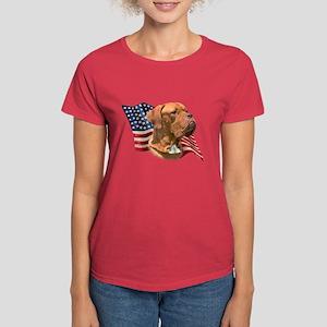 Dogue Flag Women's Dark T-Shirt