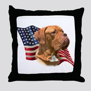 Dogue Flag Throw Pillow