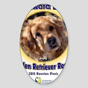2013 Reunion Picnic Sticker (Oval)