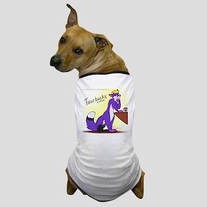 Folftaur At The Coffee Shop Dog T-Shirt